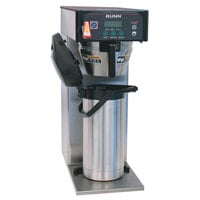 Bunn 36600.0014 ICB-DV Infusion Stainless Steel Coffee Brewer with Lower Side Faucet - Dual Voltage
