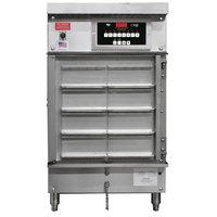 Winston Industries HA8503-08-PT CVAP Half Size Pass Thru Holding Cabinet - 8 Universal Bins