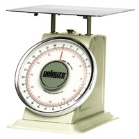 Rubbermaid Pelouze 10B60 60 lb. / 27 kg. Mechanical Receiving Scale - Dual Read (FG10B60)
