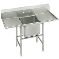 Advance Tabco 94-21-20-18RL Spec Line One Compartment Pot Sink with Two Drainboards - 58 inch