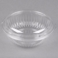 Dart Solo C24BCD PresentaBowls 24 oz. Clear Plastic Bowl with Dome Lid - 126/Case