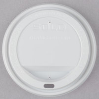 Dart Solo TLP20 20 oz. White Plastic Travel Lid - 1000 / Case