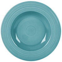 Homer Laughlin 462107 Fiesta Turquoise 21 oz. Pasta Bowl - 12 / Case