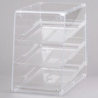 Cal-Mil 960 Classic U-Build Three Tier Acrylic Display Case - 11 1/2 inch x 17 inch x 17 inch