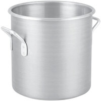 Vollrath 4306 Wear-Ever Classic 24 Qt. Aluminum Rolled Edge Stock Pot