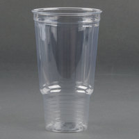 Dart Solo UltraClear 32AC 32 oz. Clear PET Plastic Cold Cup - 25 / Pack