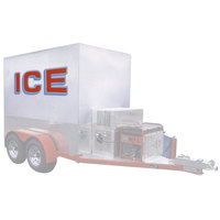 Polar Temp 5X10AD Auto Defrost Refrigerated Ice Transport - 283 cu. ft.