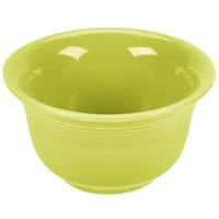 Homer Laughlin 450332 Fiesta Lemongrass 6.75 oz. Bouillon - 12 / Case