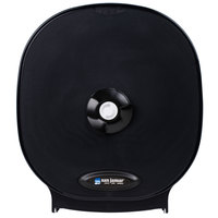 San Jamar R3800TBK Four Station Carousel Toilet Tissue Dispenser - Black Pearl
