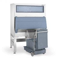 Follett DEV860SG-48-125 48 inch Ice Storage Bin with 125 lb. Ice Cart - 860 lb.