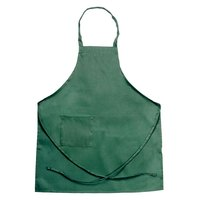 Chef Revival 601BAC-HG Customizable Full-Length Hunter Green Bib Apron - 30 inchL x 34 inchW
