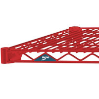 Metro 2472NF Super Erecta Flame Red Wire Shelf - 24 inch x 72 inch