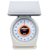 Rubbermaid Pelouze 832WQ QuickStop 32 oz. Portion Scale - 9 inch x 9 inch Platform (FG832WQ)