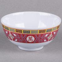 Longevity 12 oz. Round Melamine Rice Bowl - 12/Case