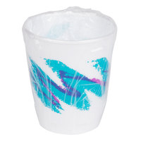 Dart Solo WX9-64568 Hotel and Motel 9 oz. Individually Wrapped Hot / Cold Cup with Jazz Design - 900/Case
