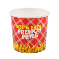 Choice 32 oz. French Fry Cup - 50 / Pack