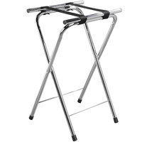 Carlisle C362538 Chrome Tray Stand - 31 1/2 inch