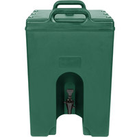 Cambro 1000LCD519 Camtainer 11.75 Gallon Green Insulated Beverage Dispenser