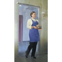 Curtron M106-PR-4080 40 inch x 80 inch Polar Reinforced Step-In Refrigerator / Freezer Strip Door