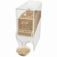 Cal-Mil 766 15.5 qt. Acrylic Bulk Cereal Dispenser