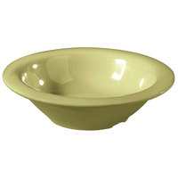 GET B-86-AV Avocado Diamond Harvest 8 oz. Bowl - 48 / Case