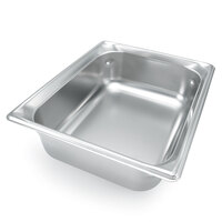Vollrath 46082 9 Qt. Full Size Replacement Stainless Steel Water Pan for New York, New York, Orion, and Avenger Chafers