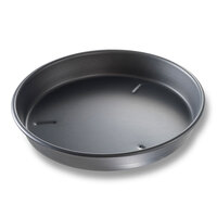 Chicago Metallic 91105 10 inch x 1 1/2 inch BAKALON Pre-Seasoned Aluminum Deep Dish Pizza Pan