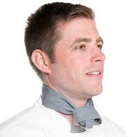 37 inch x 14 inch Gray Chef Neckerchief / Bandana