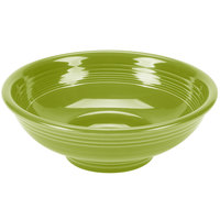 Homer Laughlin 765332 Fiesta Lemongrass 2 qt. Pedestal Serving Bowl - 4 / Case
