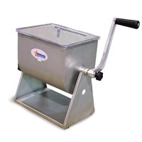 17 lb. Manual Tilting Meat Mixer with 4.2 Gallon Tank