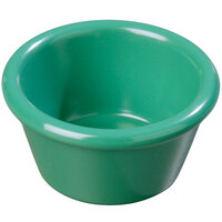 Carlisle 085209 2 oz. Green Smooth Plastic Ramekin - 72/Case