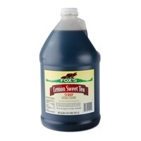 Fox's Sweetened Iced Tea Concentrate with Lemon Flavor - 1 Gallon