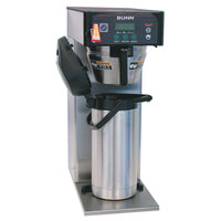Bunn 36600.0015 BrewWISE ICB-DV Stainless Steel Infusion Tall Coffee Brewer with Lower Side Faucet - Dual Voltage