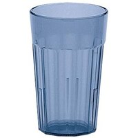 Cambro NT20401 Slate Blue Newport Customizable Plastic Tumbler 22 oz. - 36/Case