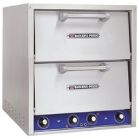 Bakers Pride P-46BL Brick Lined Electric Countertop Bake and Roast / Pizza Oven - 208V, 3 Phase, 5750W