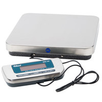 Edlund ERS-60 60 lb. Digital Receiving Scale with 12 inch x 12 1/2 inch Platform
