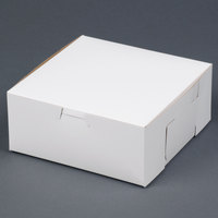 Southern Champion 917 7 inch x 7 inch x 3 inch White Cake / Bakery Box - 250/Bundle