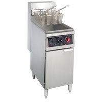 Cecilware EFS-40 Heavy Duty 40 lb. Electric Fryer with Stainless Steel Tank - 18000W