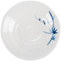 Blue Bamboo 5 1/8 inch Round Melamine Soup Plate - 12/Pack