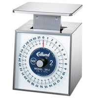 Edlund SR-2 Premier Series 32 oz. Mechanical Portion Scale with 6 inch x 6 3/4 inch Platform