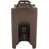 Carlisle XT250001 2.5 Gallon Brown Insulated Beverage Dispenser