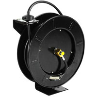 Equip by T&S 5HR-242-01-GH Hose Reel with Garden Hose Adapter and Spray Valve - 50' Hose