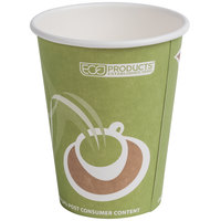 Eco Products EP-BRHC12-EW Evolution World PCF 12 oz. Paper Hot Cup - 50 / Pack