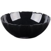 Carlisle 691703 Petal Mist 9.8 Qt. Black Polycarbonate Bowl