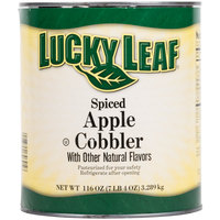 Lucky Leaf Spiced Apple Cobbler Filling #10 Can