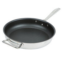 Vollrath 47758 Intrigue 12 1/2 inch Non-Stick Fry Pan with Helper Handle