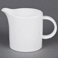 Cardinal Arcoroc H0012 Daring Porcelain 5 1/4 oz. Creamer - 16/Case