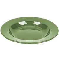 CAC P-115GRE Festiware Pasta Bowl 22 oz. - Green - 12/Case