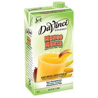 DaVinci Gourmet Mango Mania Real Fruit / Tea Infusion Smoothie Mix - 64 oz.