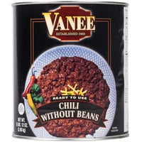 Vanee 390VG Chili without Beans - (6) #10 Cans / Case